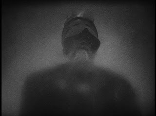 "The Ghost in Olivier's 1948 ""Hamlet"" (Credit: letsnottalkaboutmovies.blogspot)"